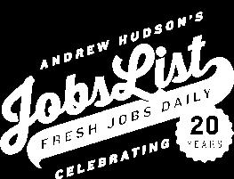 Andrew Hudson's Jobs List Logo